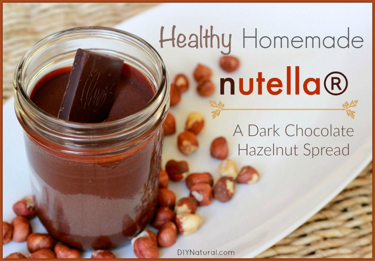 Homemade Nutella: A Healthy Chocolate Hazelnut Spread - Recipe Chocolate Hazelnut Spread