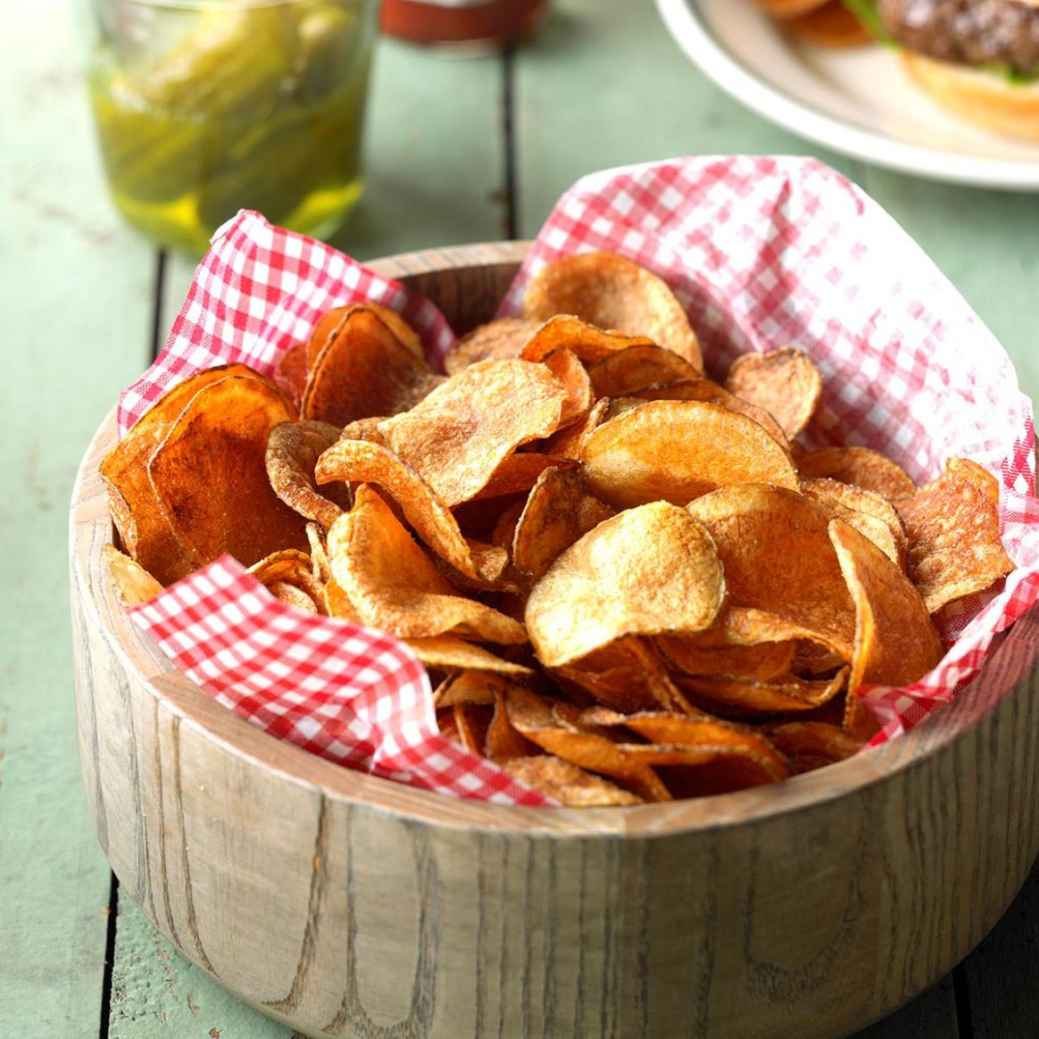 Homemade Potato Chips - Recipes With Potato Chips