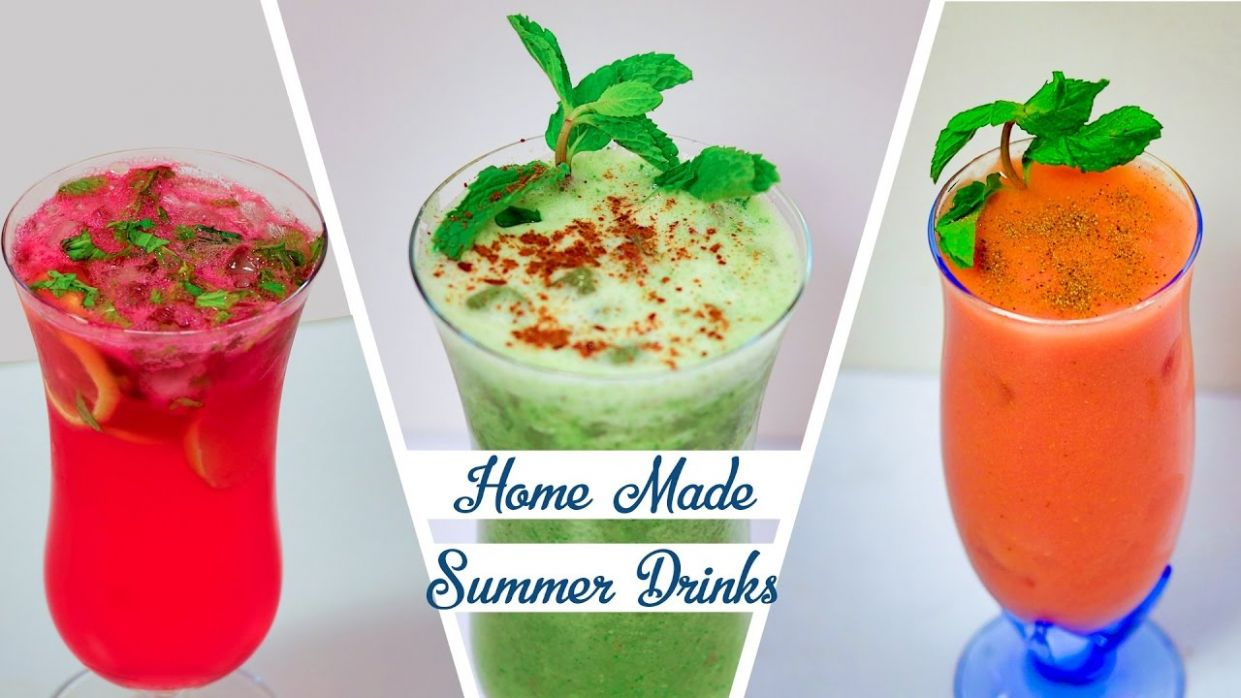 Homemade Summer Drinks Recipe – How To Make Easy Refreshing Summer Coolers - Recipes Of Summer Drinks