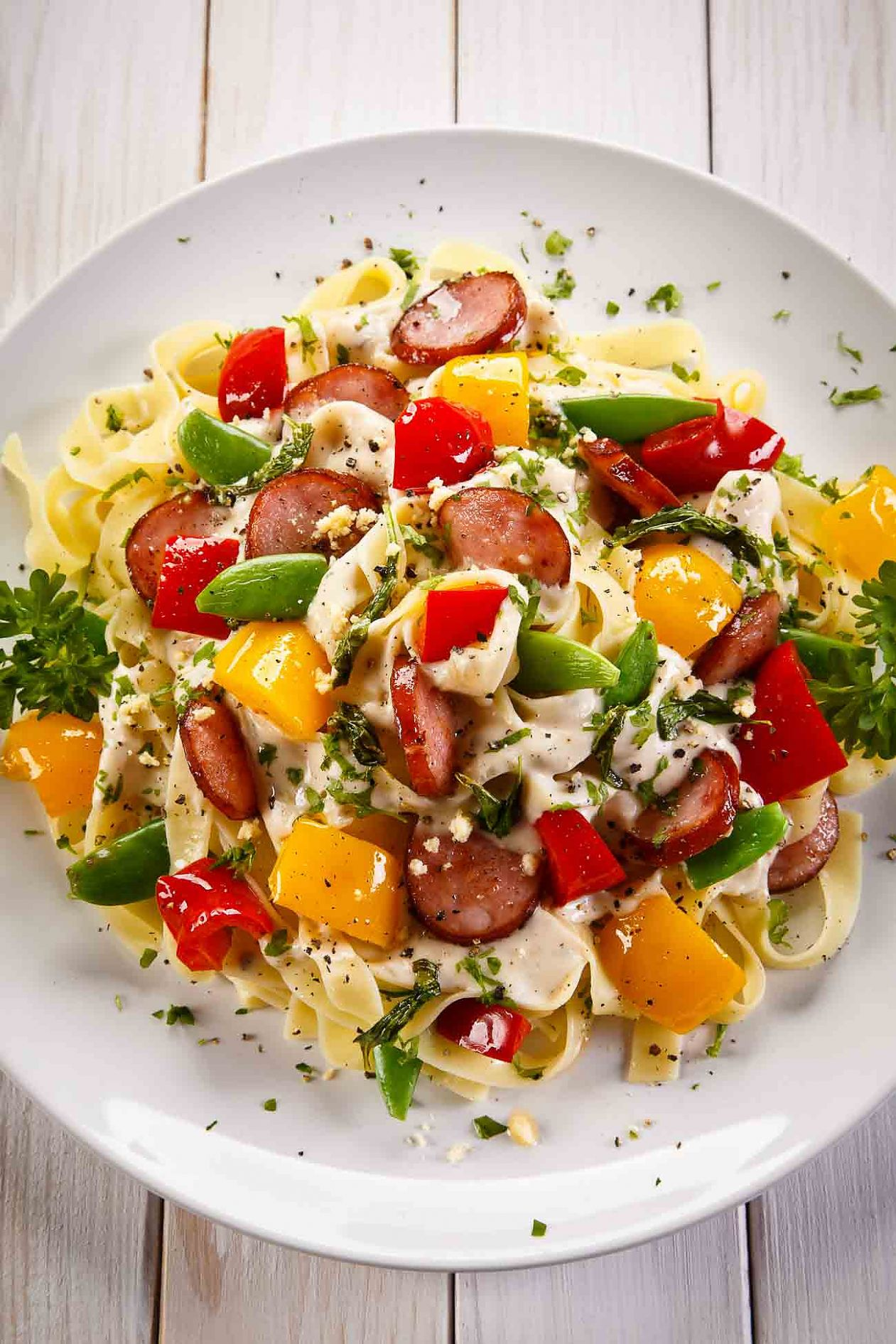 Homemade Summer Pasta Salad Recipe With Herbs