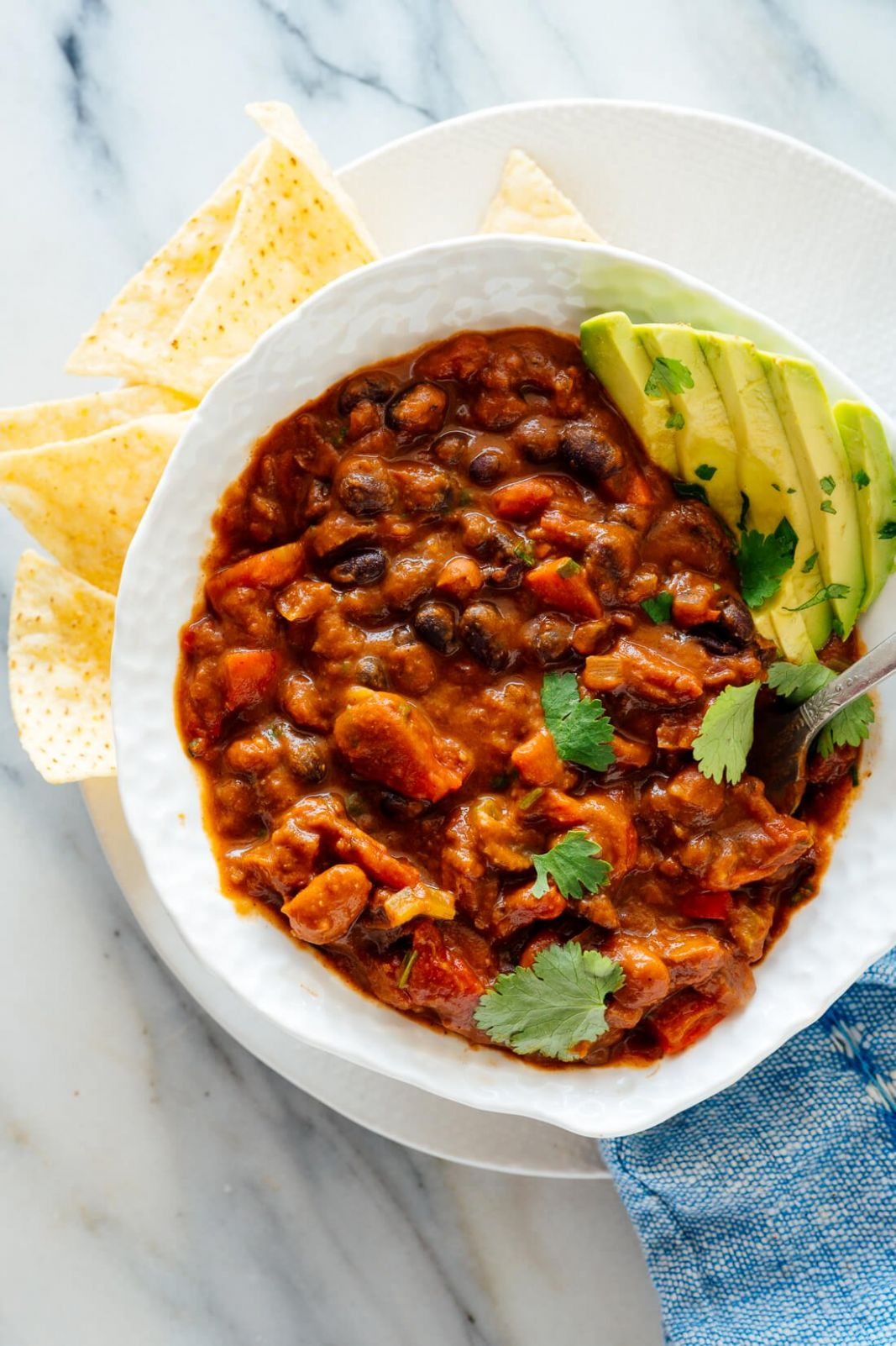 Homemade Vegetarian Chili - Simple Recipes Vegetarian Chili
