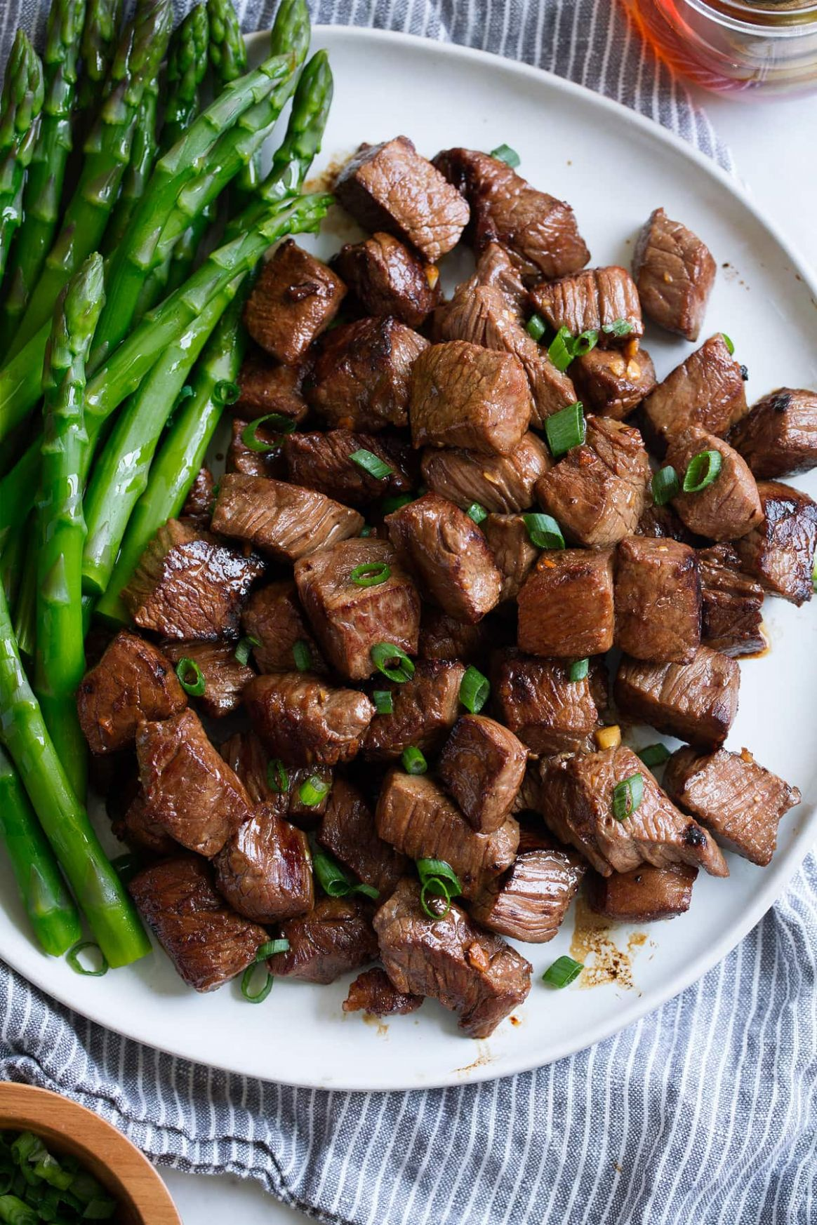 Honey Garlic Steak Bites - Cooking Classy - Recipes Diced Beef