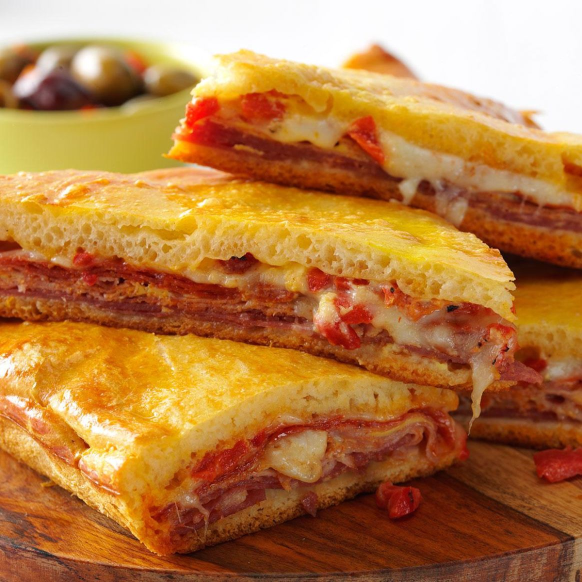 Hot Antipasto Sandwiches - Sandwich Recipes Hot