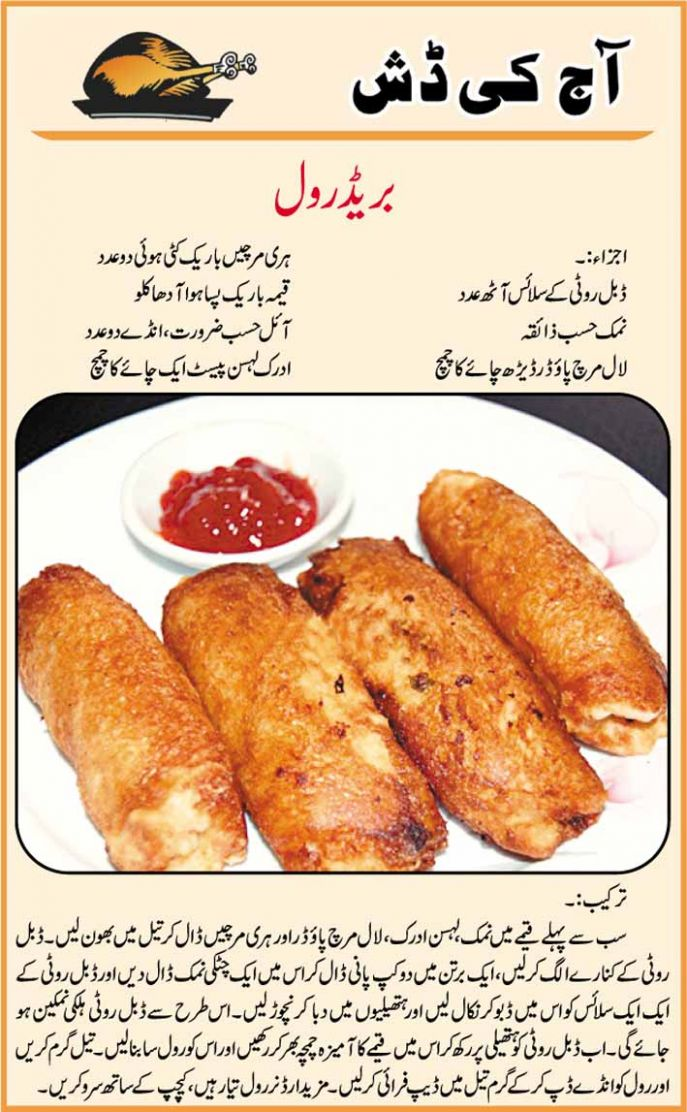 Hot Bread Rolls In Urdu Recipes