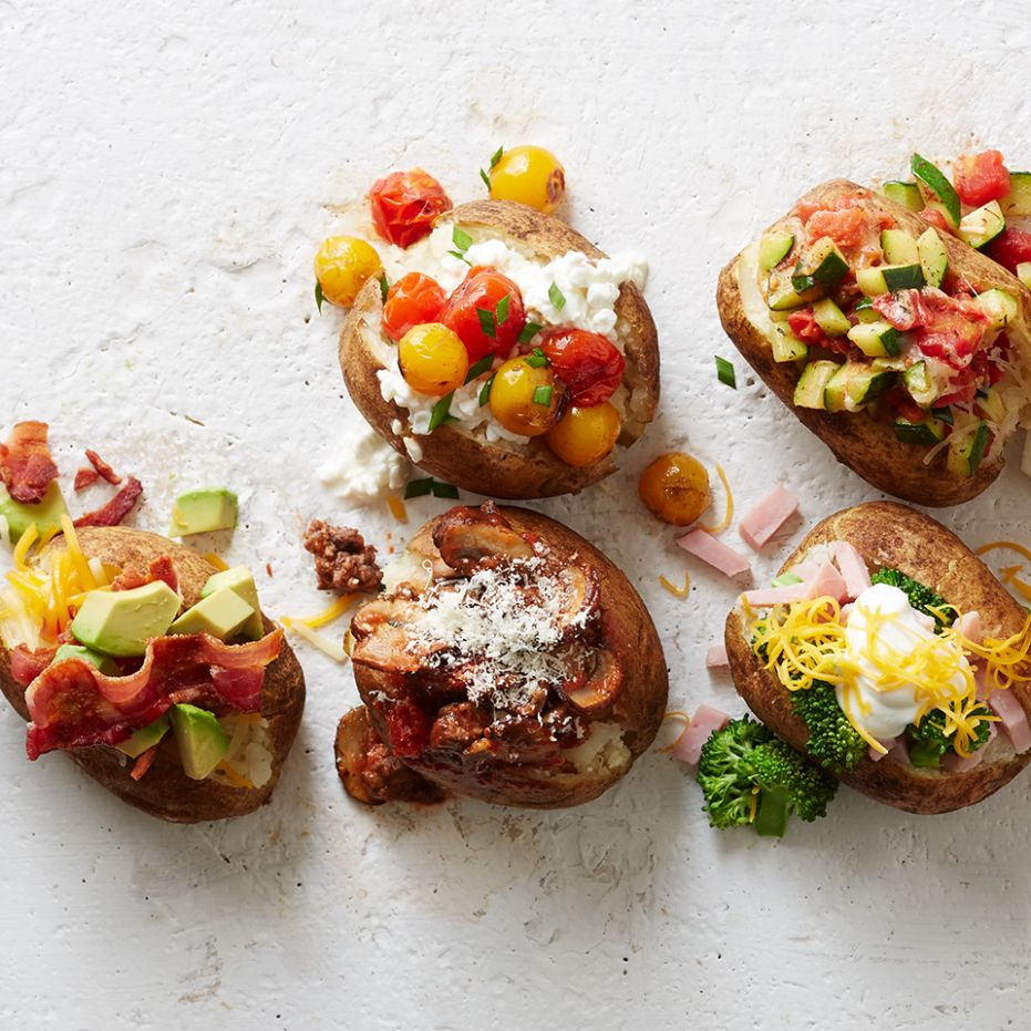 Hot Potato! 9 Healthy Baked Potato Toppings You Haven't Tried ...