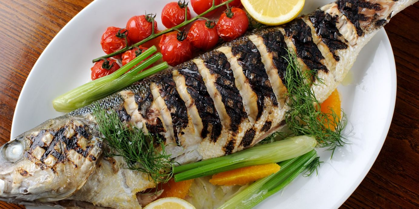 How to Barbecue Whole Sea Bass - Great British Chefs - Recipes Cooking Sea Bass
