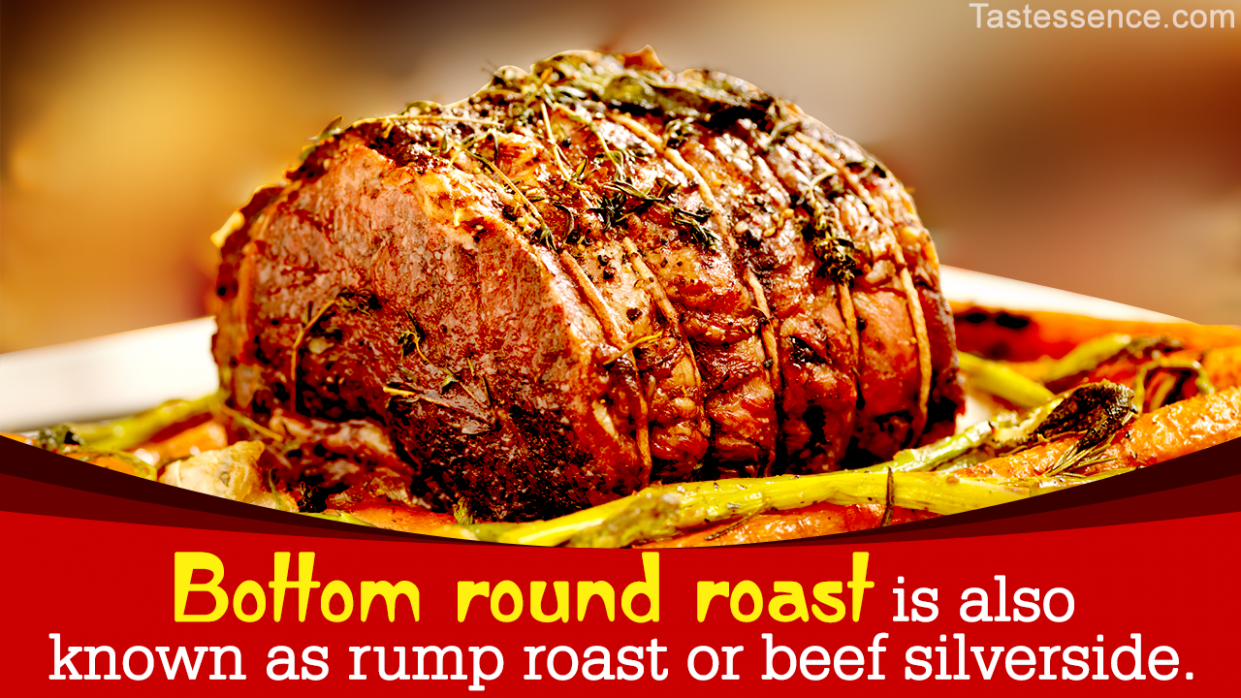 How to Cook a Melt-in-the-mouth Bottom Round Roast - Tastessence - Recipes Beef Bottom Round Roast