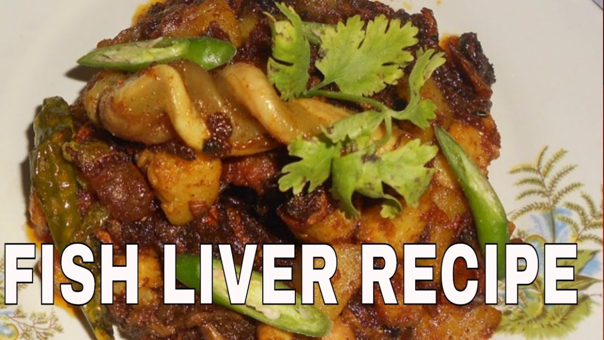 HOW TO COOK FAMOUS FISH LIVER 10 - Recipe Fish Liver
