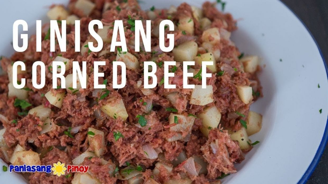 How to Cook Ginisang Corned Beef - Bully Beef Recipes Za