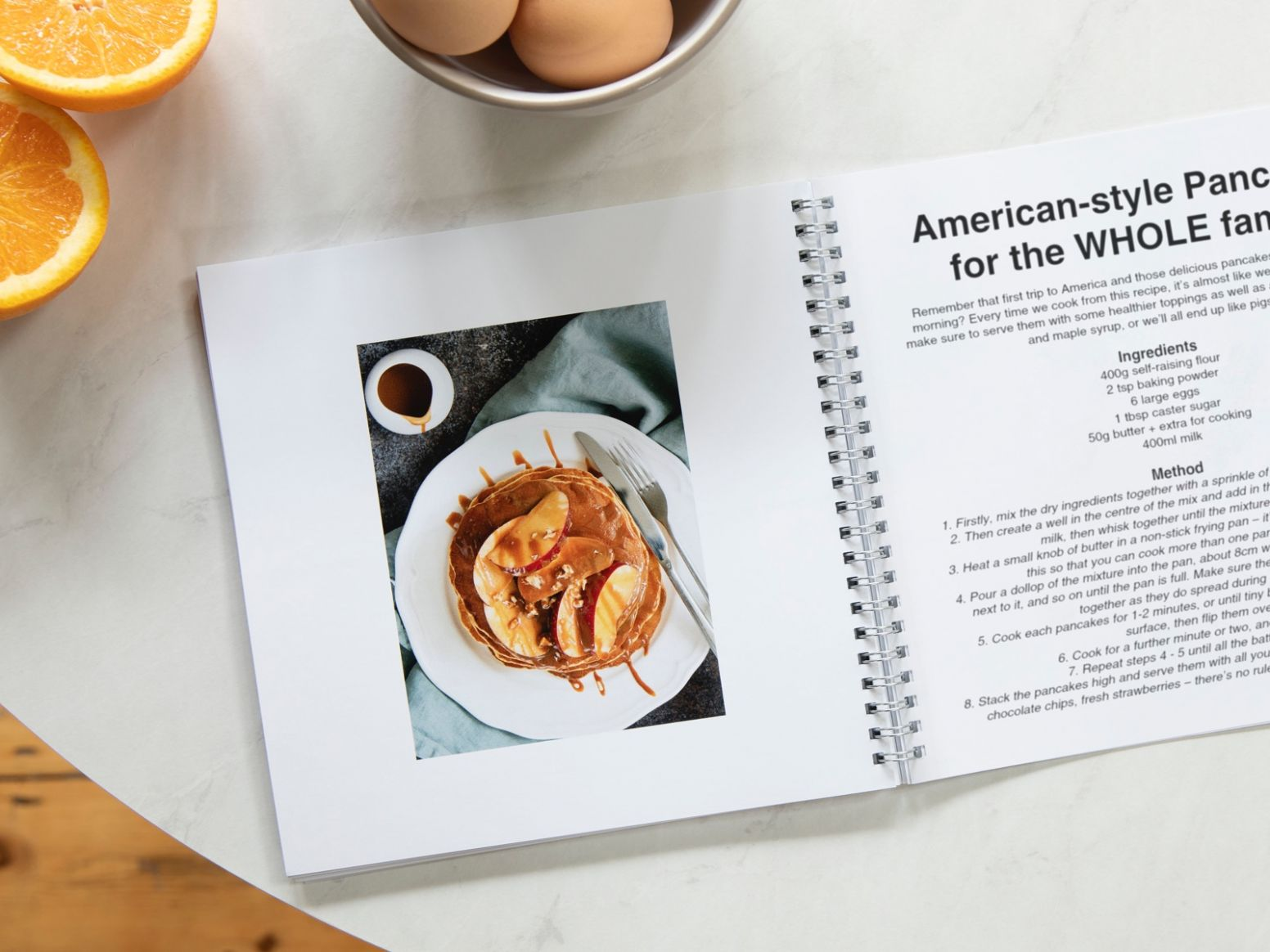 How to create a recipe book | Build your own cookbook | Photobox