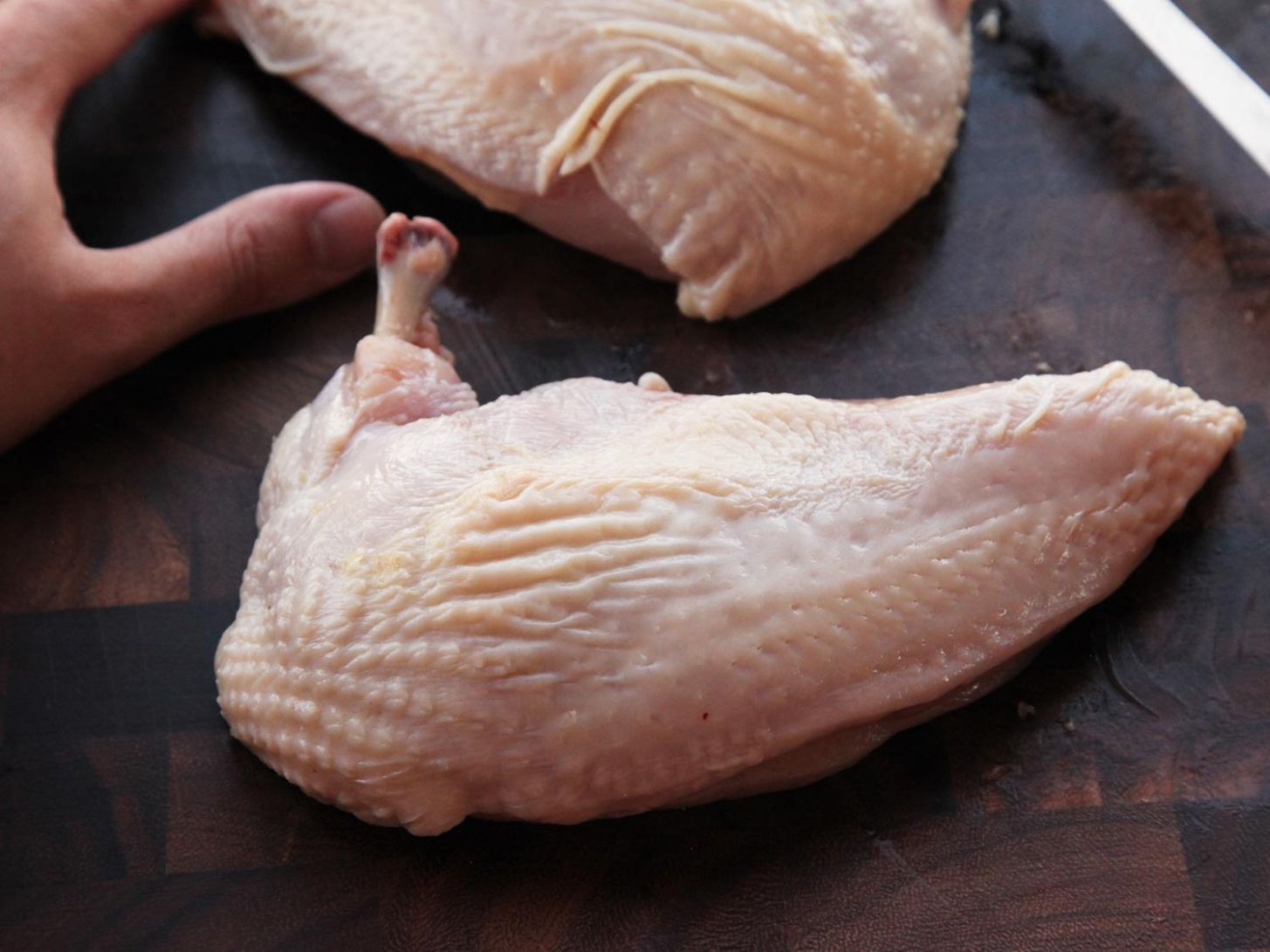 How to Cut an Airline Chicken Breast | Knife Skills | Serious Eats - Recipes Chicken Breast With Ribs Attached