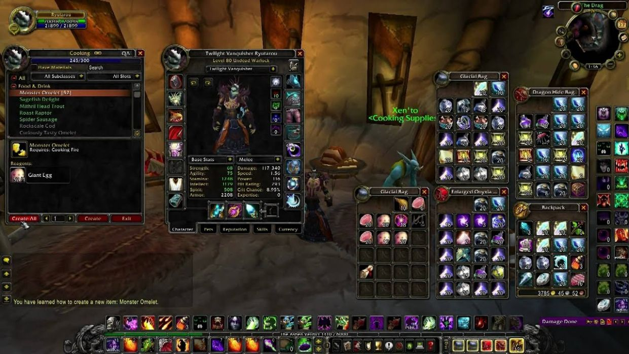 How to Easily Level Cooking 9-9 in the World of Warcraft! - Cooking Recipes Vanilla Wow