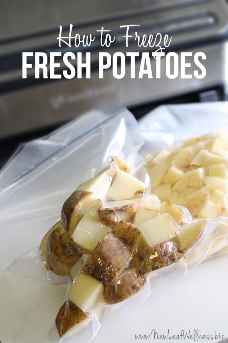 How to Freeze Raw Potatoes | The Family Freezer