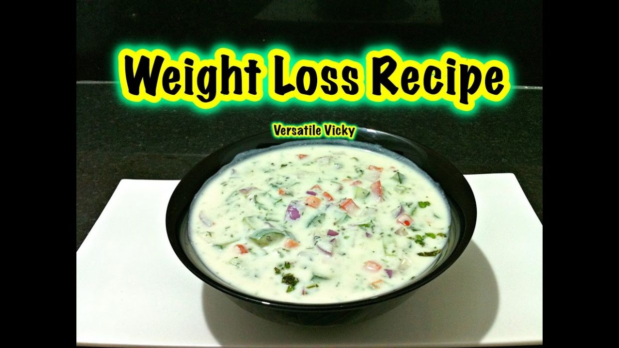 How to Lose Weight Fast with Yogurt / Indian Meal Plan / Lose 12KG in a  Month / Vegetable Raita
