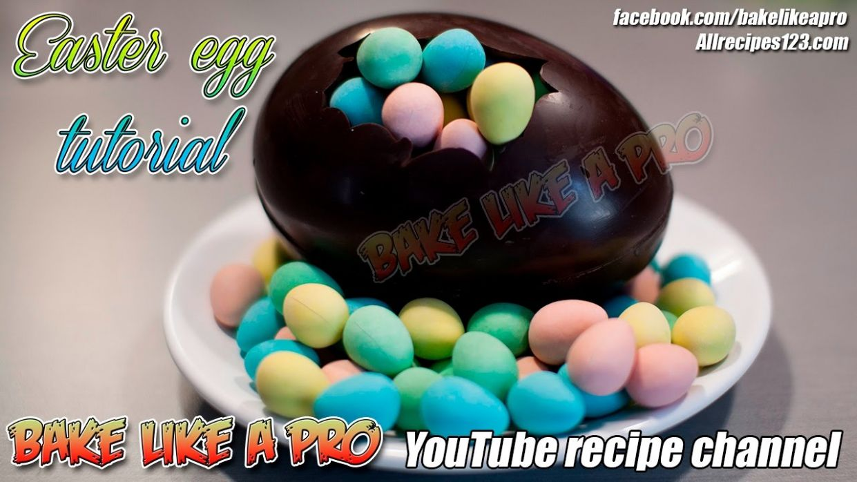 How To Make A Chocolate Easter Egg Filled With Cadbury Chocolate Mini Eggs