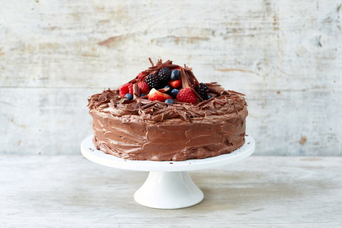 How to make a classic chocolate cake recipe | Features | Jamie Oliver
