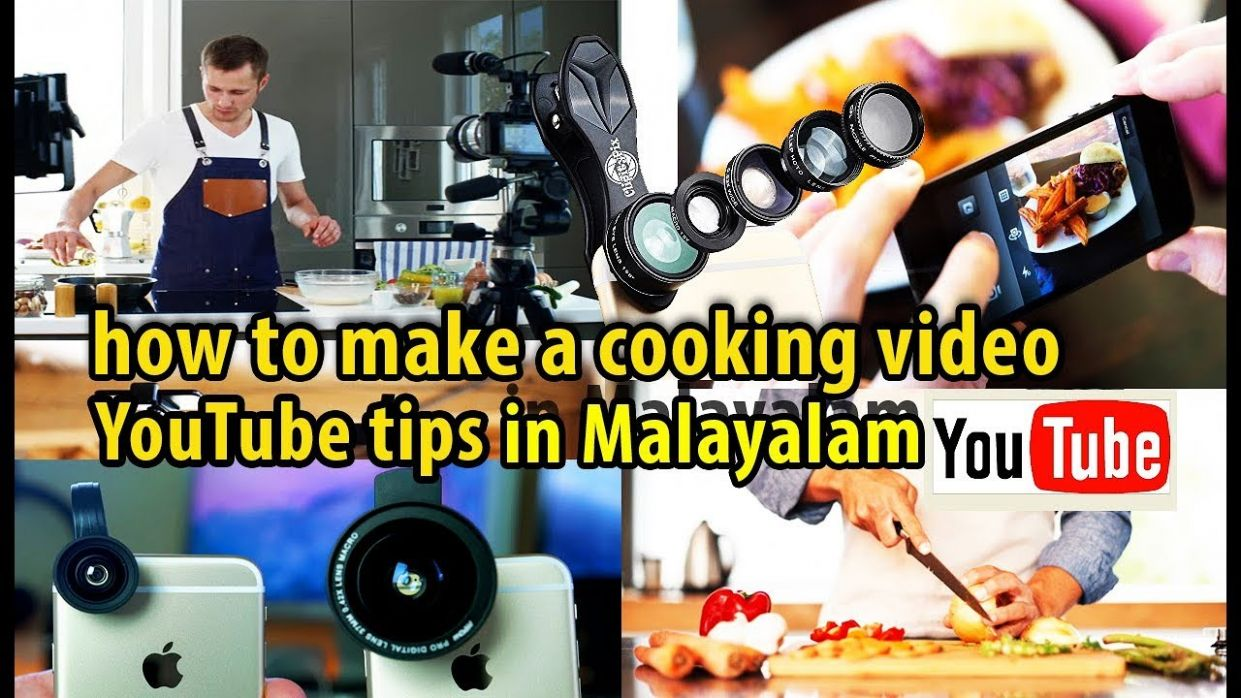 how to make a Recipe video for YouTube | Video shoot, Edit, More tips  /Techway in Malayalam - Cooking Recipes Youtube Video