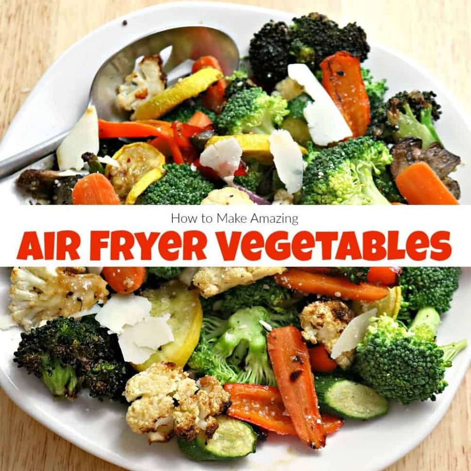 How to Make Amazing Air Fryer Vegetables in Under 10 Minutes