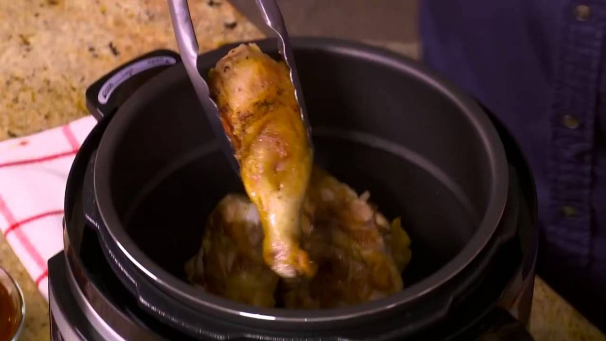 How to Make BBQ Chicken with the Power Pressure Cooker XL