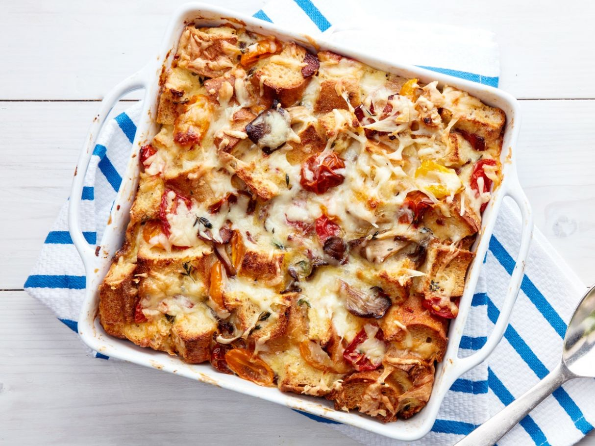 How to Make Breakfast Strata Without a Recipe | Epicurious
