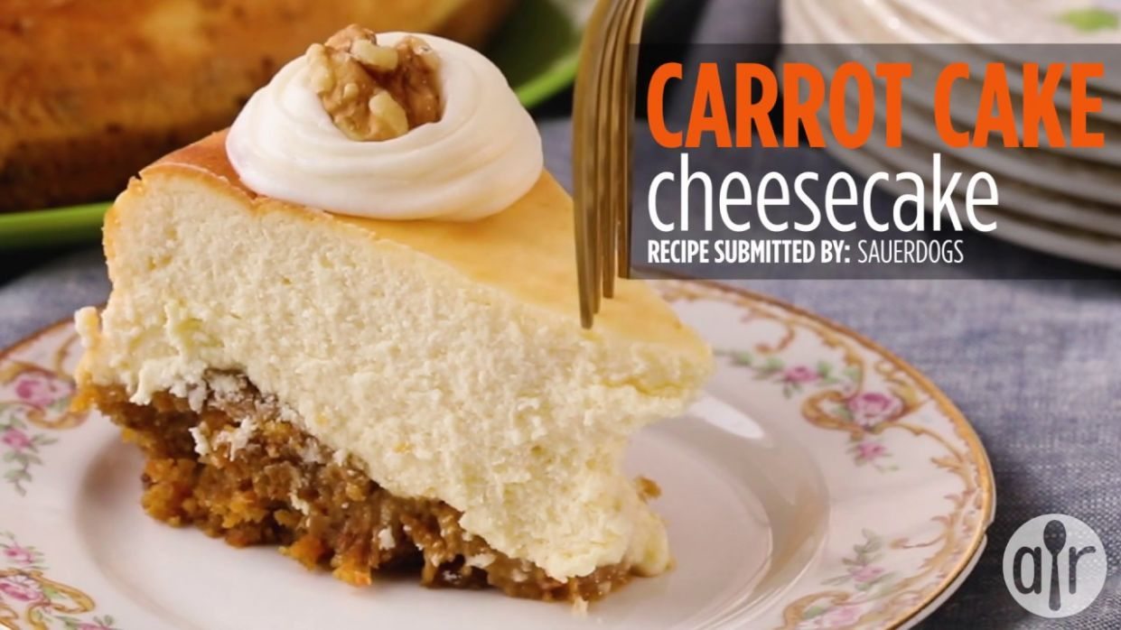 How to Make Carrot Cake Cheesecake | Dessert Recipes | Allrecipes