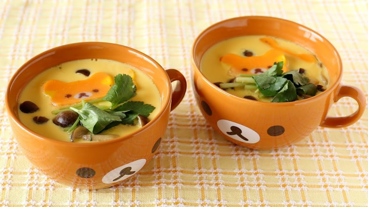 How to Make Chawanmushi (8 STEPS Savory Egg Custard Recipe) | OCHIKERON |  Create Eat Happy :)
