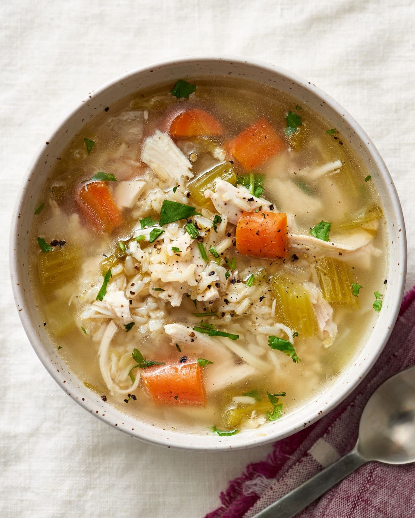 How To Make Chicken and Rice Soup - Soup Recipes Kitchn