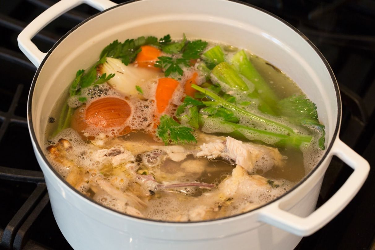 How to Make Chicken Stock - Cooking Classy