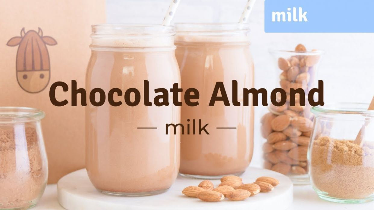 How To Make Chocolate Almond Milk At Home (without straining!) I Almond Cow
