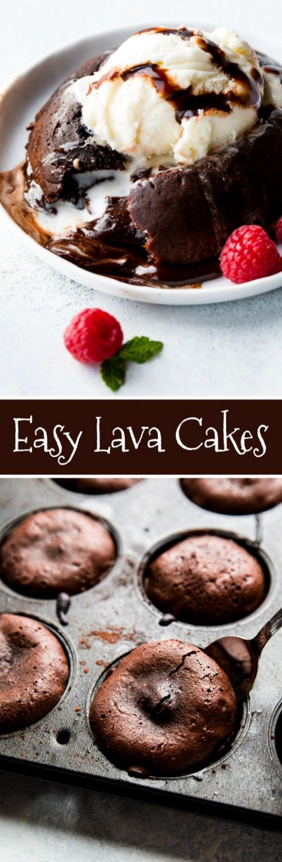 How to Make Chocolate Lava Cakes | Sally's Baking Addiction