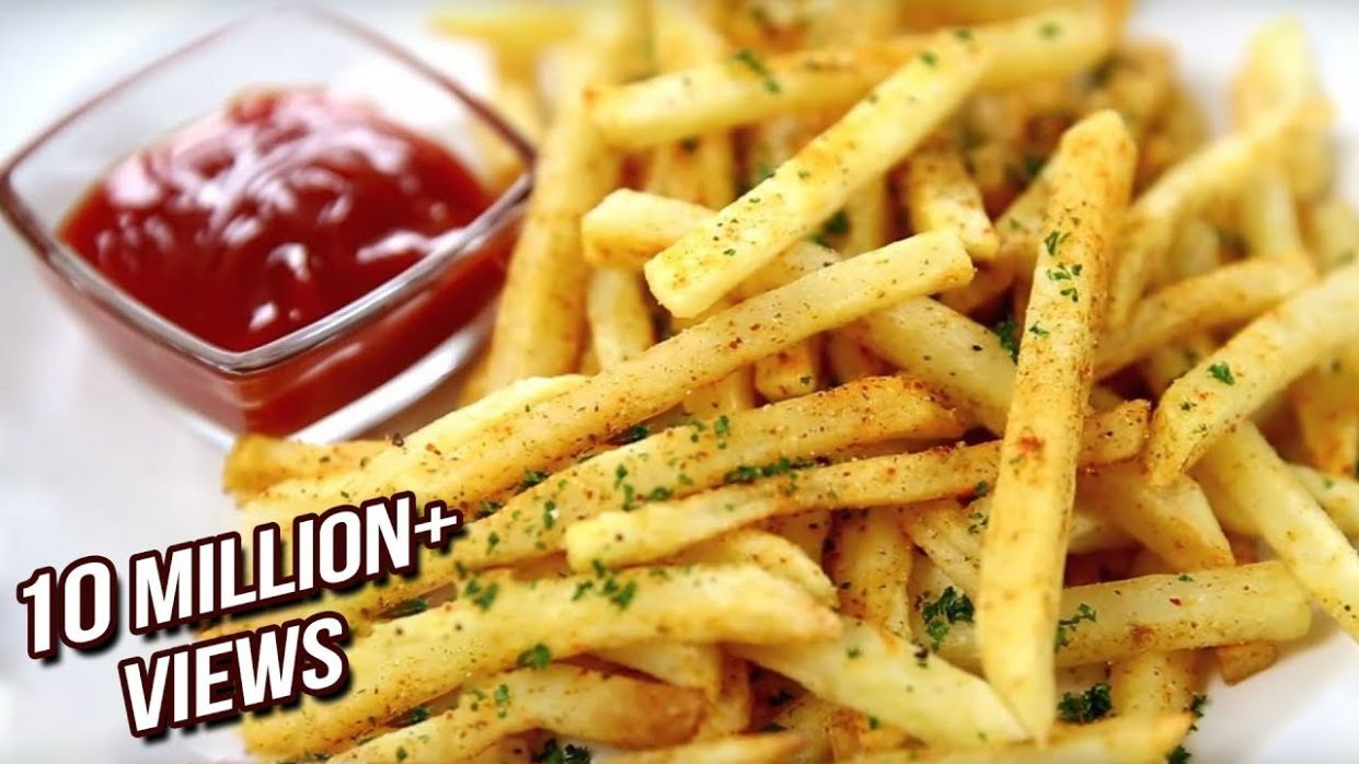 How to Make Crispy French Fries Recipe | Homemade Perfect French Fries  Recipe | Varun Inamdar - Recipes Potato Fries