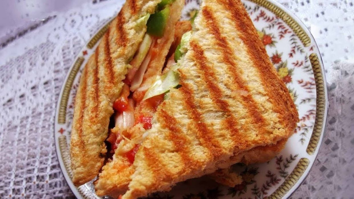 How To Make Daily Grilled Sandwich | Grilled Sandwich By Sanjeev Kapoor |  Grilled Sandwich Recipe - Sandwich Recipes Sanjeev Kapoor