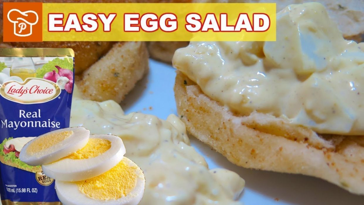 How to Make Easy Egg Salad | Pinoy Easy Recipes - Recipe Egg Sandwich Spread