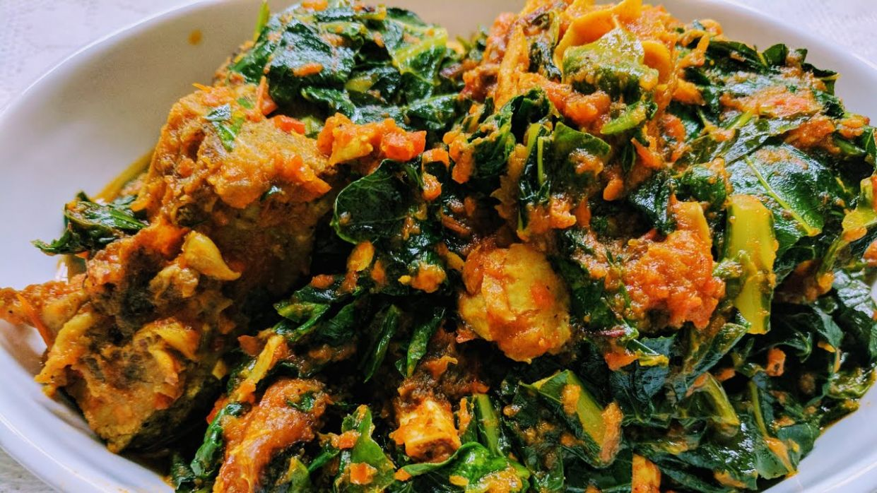 How to Make Efo Riro (Nigerian Vegetable Soup/Stew Recipe) - Recipes Nigerian Vegetable Soup
