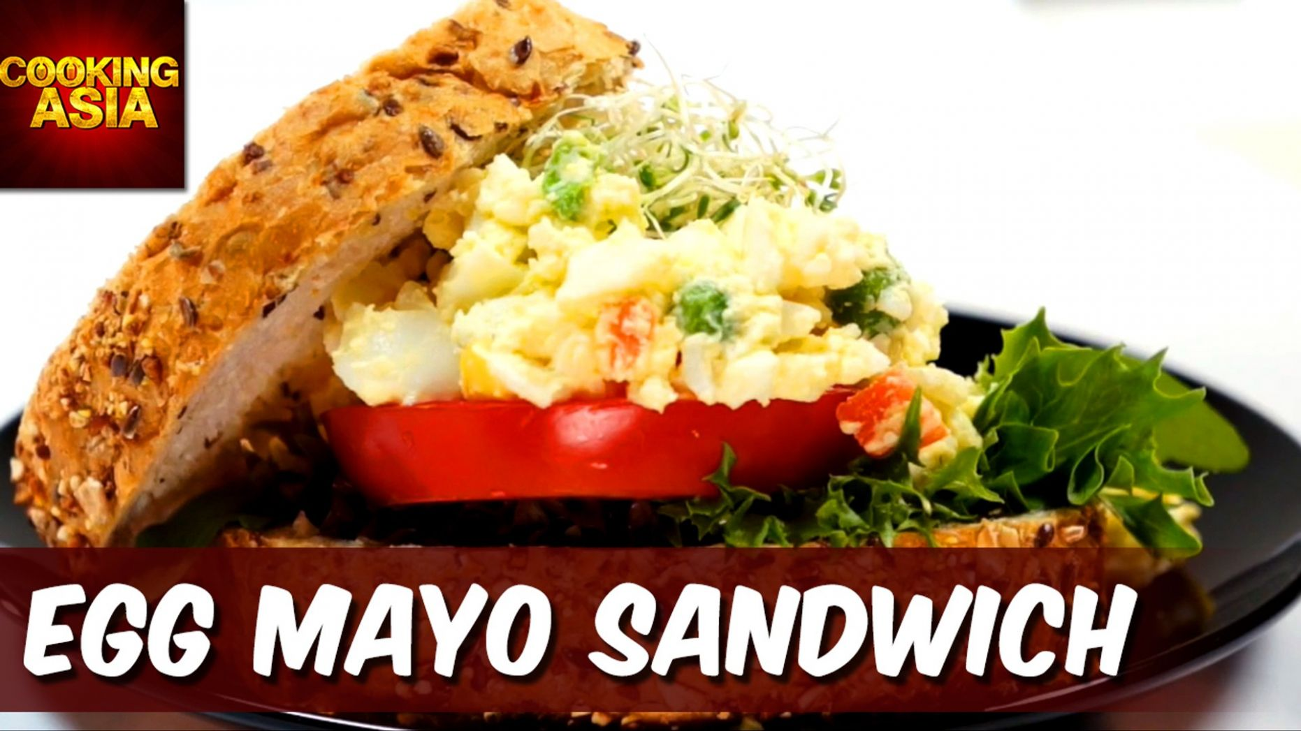 How To Make Egg Mayo Sandwich | Cooking Asia