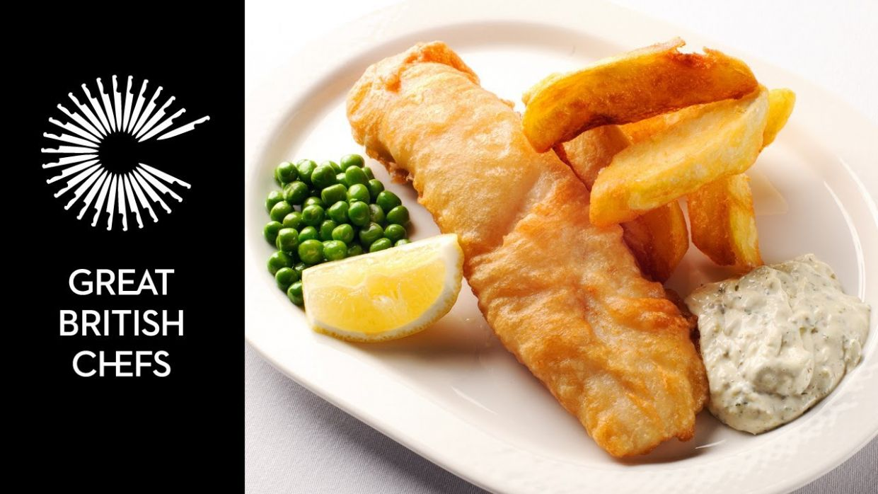 How to make fish and chips with Nathan Outlaw - Fish Recipes Youtube