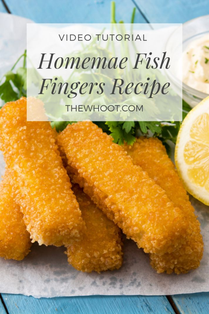 How To Make Fish Fingers From Scratch | The WHOot