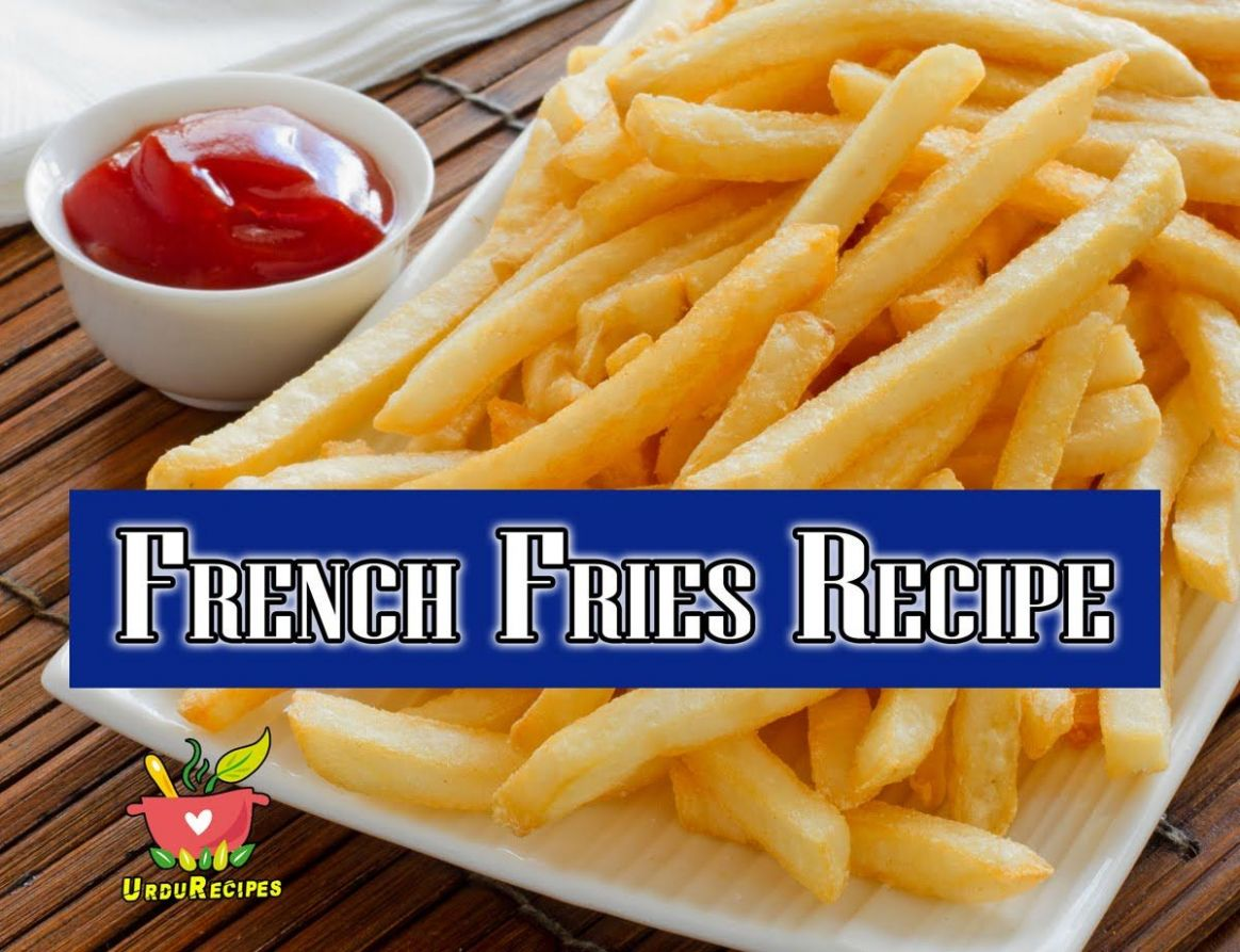 How to Make French Fries at home - french fries recipe in urdu ..