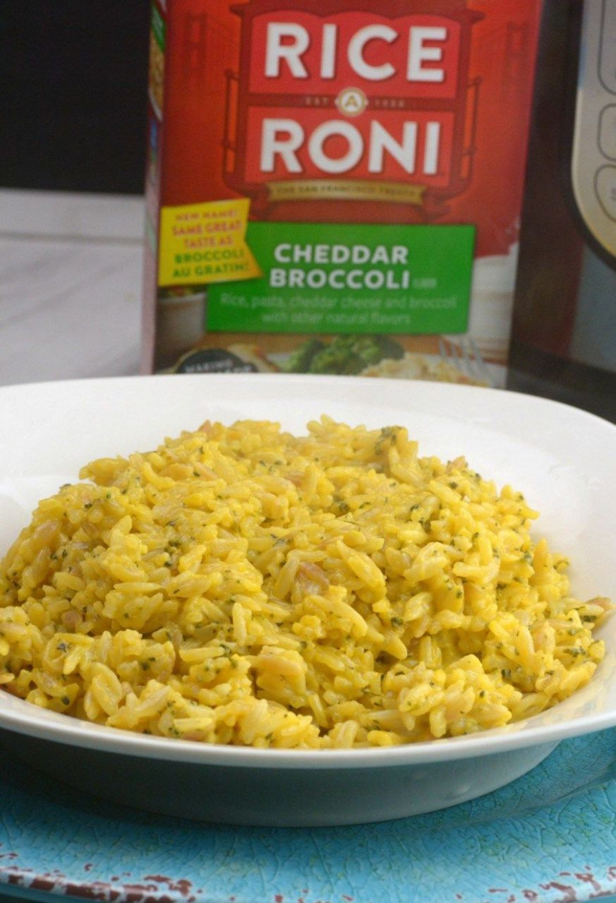 How to Make Instant Pot Boxed Rice A Roni - Recipes Rice A Roni