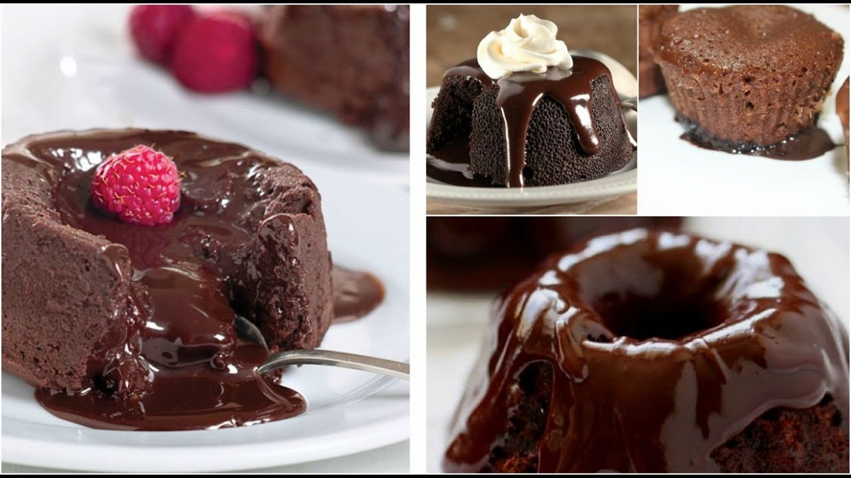How To Make Lava Chocolate Cupcakes At Home