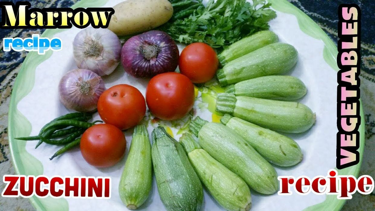 how to make marrow sabzi