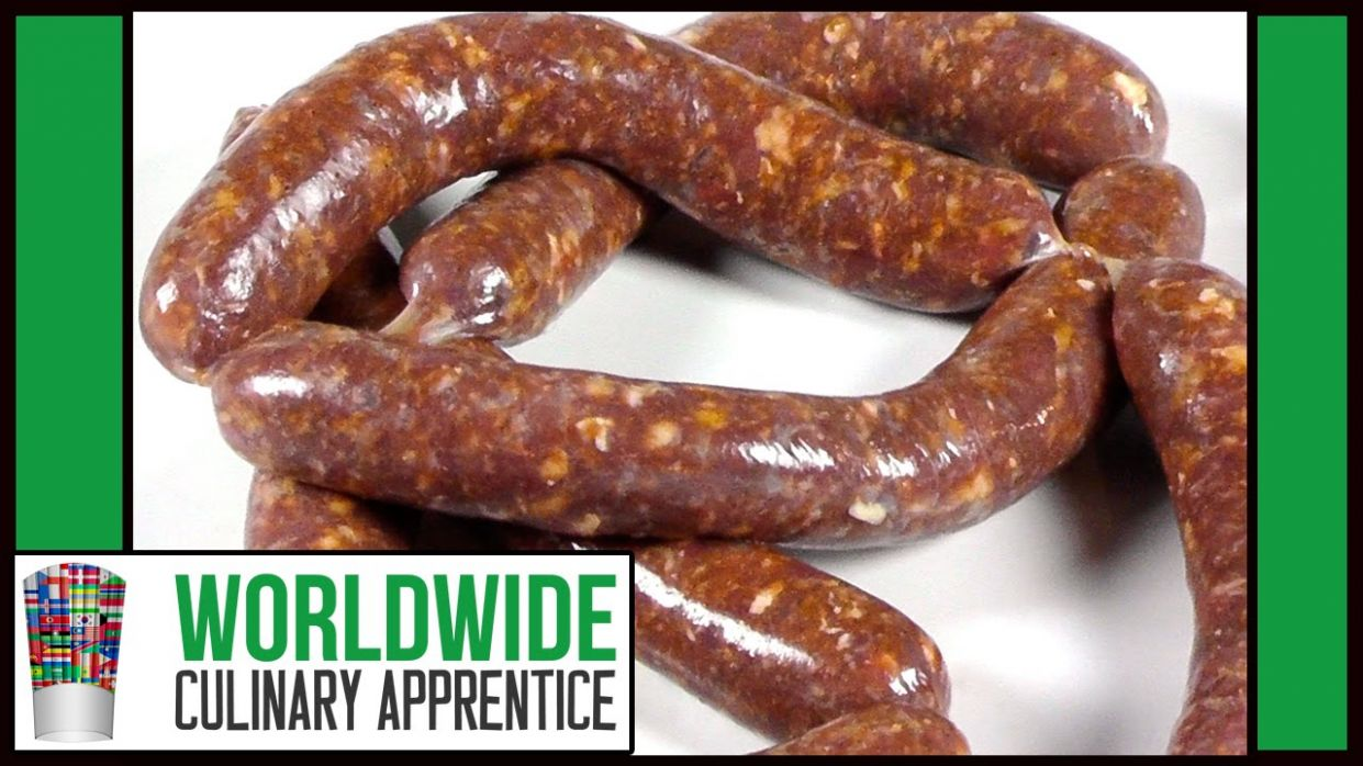 How to Make Merguez Step By Step-Spicy lamb Sausage Recipe-Beef Sausage  Making - Recipes Beef Sausages
