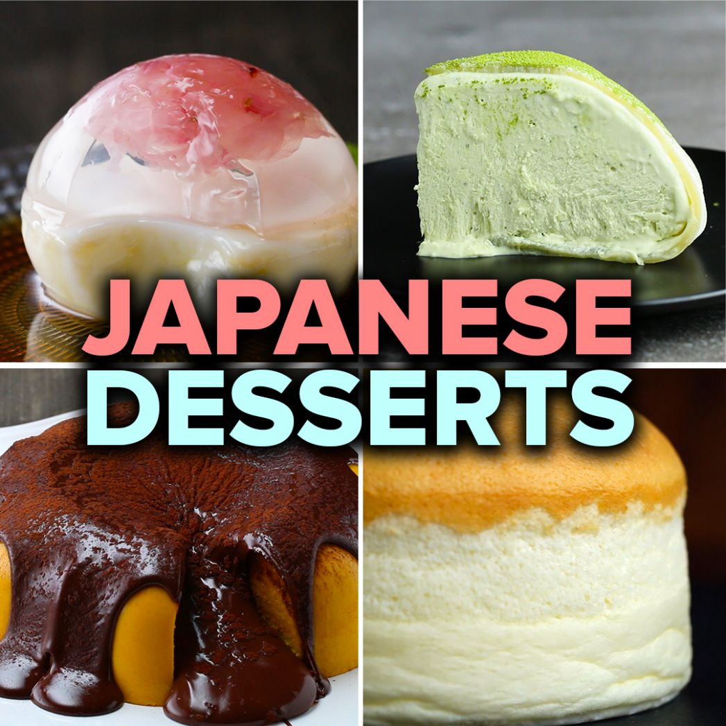 How To Make Mesmerizing Japanese Desserts | Recipes - Dessert Recipes Tasty