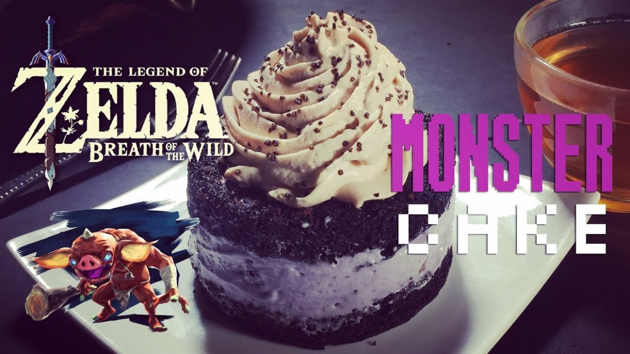 How to Make Monster Cake from Zelda Breath of the Wild