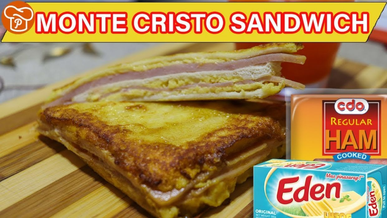 How to Make Monte Cristo Sandwich (Pinoy-Style) | Pinoy Easy Recipes - Sandwich Recipes Panlasang Pinoy