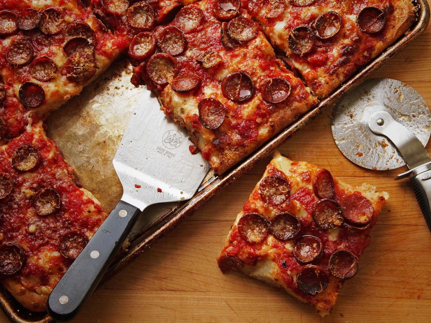 How to Make New York's Finest Sicilian Pizza at Home | The Food ...