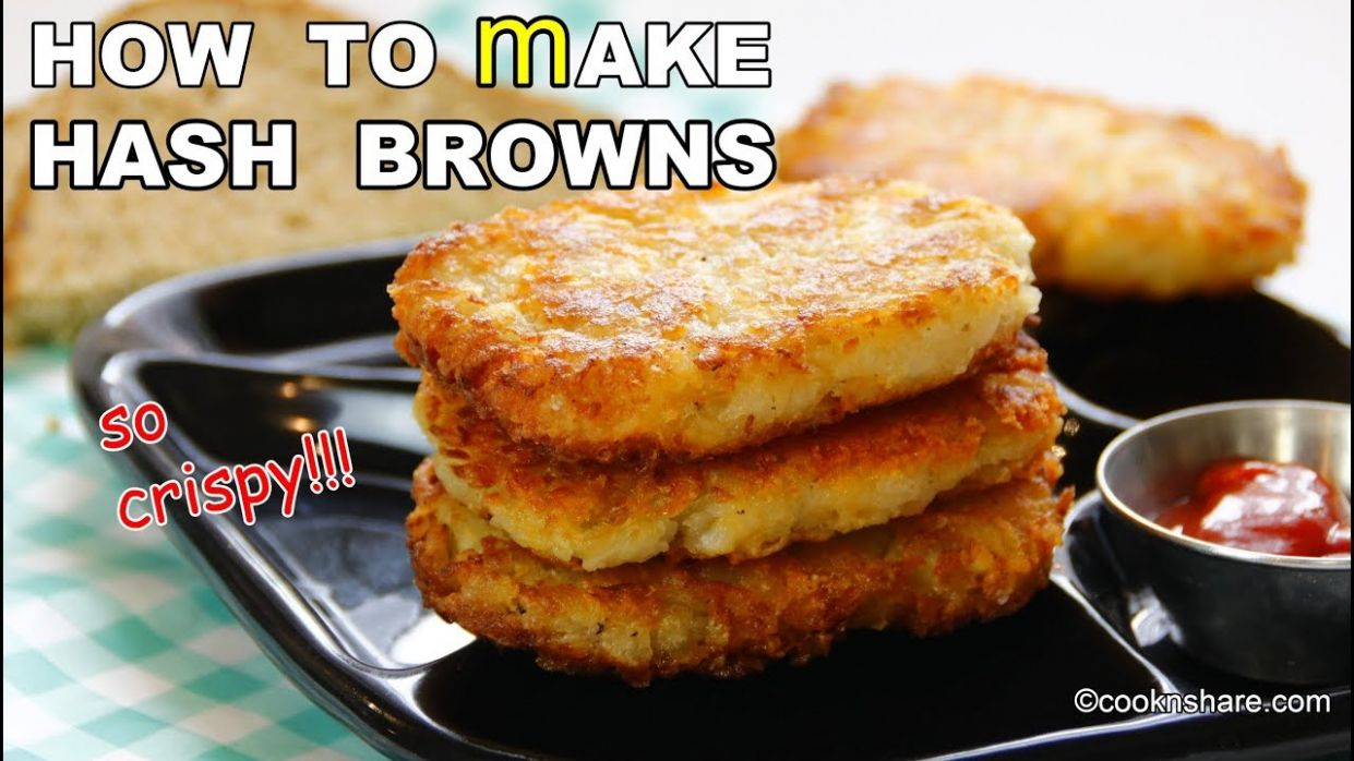 How to make Perfect HASH BROWNS at home - Simple Recipes Hash Browns