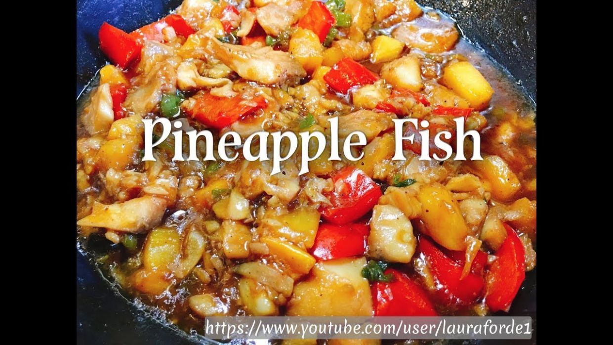 How To Make Pineapple Fish - Recipe Fish With Pineapple