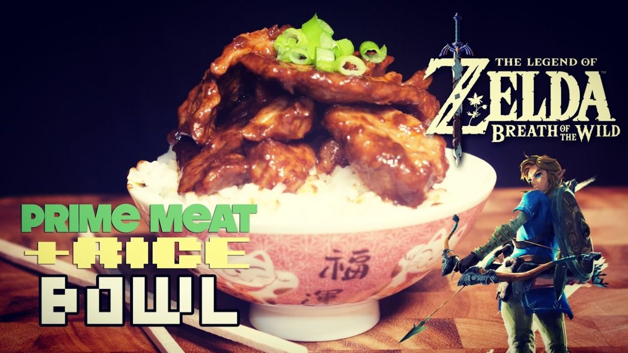 How to Make Prime Meat and Rice Bowl from Breath of the Wild