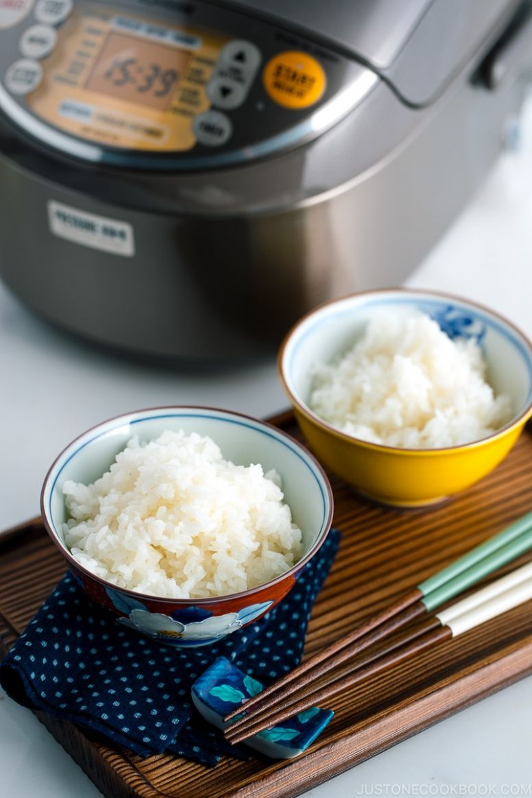 How To Make Rice in a Rice Cooker - Recipes Japanese Rice Cooker